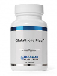 """Glutathione Plus 60 caps   Glutathione, an """"AMNI Original Formula"""", comes in a new Douglas Labs label. (AMNI is part of Douglas Labs).   Glutathione Plus capsules contain 50 mg of glutathione in its active reduced form, and 440 mg of N-acetylcysteine. Glutathione is a tripeptide with antioxidant properties, and N-acetylcysteine is a biologically active precursor for intracellular glutathione.   Ingredients:  Each capsule contains:  Glutathione 50 mg  N-Acetyl-L-Cysteine 440 mg   Ingredients:  N-Acetyl-L-cysteine  glutathione  ascorbic acid  silicon dioxide  magnesium stearate   Contains no yeast; corn; wheat; soya; sugar or other sweeteners; artificial flavors, colors or preservatives.   Suggested Use:  One to two capsules daily at the start of a meal, or as directed by physician. It is recommended that Glutathione Plus be taken in conjunction with vitamins and minerals.   This item cannot be shipped to all locations.    It cannot be shipped to:      Countries: AT, DE, NL, CA   Dietary Considerations:   Not available   Delivery Formats:   Capsules (non-veg or unspecified)   Intended Users:   Not specified   This product has not been evaluated by the FDA. This product is not intended to diagnose, treat, cure or prevent any disease."""