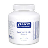 Magnesium (citrate) 180's - 180 capsules by Pure Encapsulations