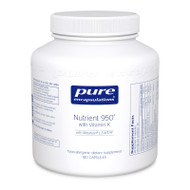 Nutrient 950® with Vitamin K - 180 capsules by Pure Encapsulations