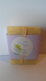 "Support local ""Pittsburgher"" Christabel in her wonderful Naturally Made with Love Soaps!   Ingredients: Coconut, Castor, Corn, Soybean, Almond oils with Beeswax and Lavander.  Smells heavenly and leaves skin very soft. All natural products!"