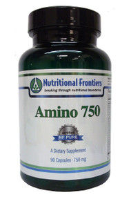 Amino 750 is a high quality, amino acid formula to support brain function and muscle metabolism - Act as building blocks for protein - Supports hormone, enzyme and antibody formation - Supports fat mobilization - Supports healthy nervous system function