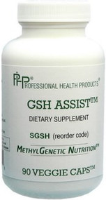 For individuals with the specific gene variants, or other reasons to limit cysteine and sulphur, GSH ASSIST is the right choice to support Glutathione. GSH ASSIST contains glycine, which is needed when individuals have a specific genetic variant or other needs for glycine.