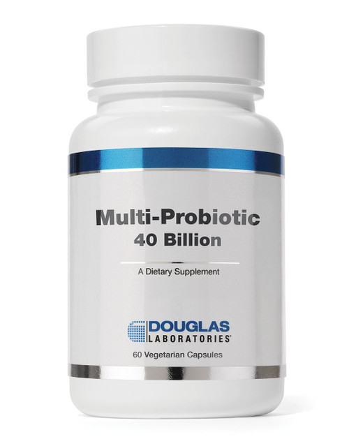 DescriptionProduct DetailsSpecifications  Multi-Probiotic 40 Billion 60 veg caps  Dietary Supplement  Suggested Usage: Take 2 capsules daily or as directed by a healthcare professional.  May increase to 4 daily  Supplement Facts Serving Size: 2 Vegetarian Capsules Servings Per Container: 30 Proprietary Blend 560 mg (yielding 40 billion CFU)  Short Chain Fructooligosaccharide (NutraFlora® scFOS®), Bifidobacterium bifidum, Bifidobacterium breve, Bifidobacterium lactis (infantis), Bifidobacterium lactis HN019, Bifidobacterium longum, Lactobacillus acidophilus,  Lactobacillus brevis, Lactobacillus bulgaricus, Lactobacillus casei, Lactobacillus gasseri, Lactobacillus paracasei, Lactobacillus plantarum, Lactobacillus rhamnosus, Lactobacillus salivarius, Lactococcus lactis,  Streptococcus thermophilus  Other Ingredients: Hydroxypropyl methylcellulose(capsule), vegetable stearate, and silica.  This product contains NO yeast, wheat, gluten, soy, milk/dairy, corn, sodium, sugar, starch, artificial coloring, artificial preservatives, artificial flavoring, or genetically modified organisms (GMOs).