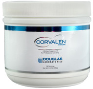 Corvalen D-ribose, distributed exclusively to healthcare professional by Douglas Laboratories, is a natural pentose sugar that is designed for the support of cardiovascular health, fatigue, energy production, and mitochondrial function®. This slightly sweet d-ribose powder is rapidly dissolved and readily absorbed into the body.