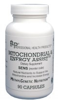 Mitochondrial & Energy Assist by PHP ( Professional Health Products ) 90 Capsules
