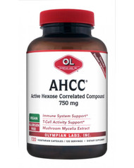 Ahcc 750 Mg By Olympian Labs - 120 Capsules