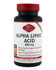 Alpha Lipoic Acid 400 Mg By Olympian Labs - 60 Capsules