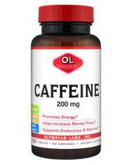 Caffeine 200 mg by Olympian Labs 100 tablets