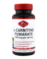 L-Carnitine 1 G By Olympian Labs - 60 Capsules