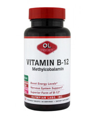 Vitamin B-12, Mighty Methyl 500 Mcg By Olympian Labs - 60 TB