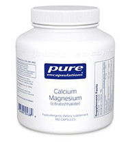 *Magnesium, like calcium, is an essential bone matrix mineral that promotes healthy bone metabolism. Supplementation with calcium and magnesium provides synergistic support for bone health. Magnesium also supports cardiovascular health by helping to maintain healthy levels of cellular and plasma electrolytes, including calcium and potassium. Additionally, calcium and magnesium may help to promote healthy lipid metabolism.  Calcium Magnesium in aspartate, citrate and citrate/malate forms are highly bioavailable calcium and magnesium chelates, providing support for bone and cardiovascular health. †Risk factors for osteoporosis include sex, race, age and inadequate calcium intake. Populations at highest risk for osteoporosis include Caucasian, Asian, postmenopausal women, and elderly women and men. Adequate calcium intake throughout life is linked to a reduced risk of osteoporosis, as calcium helps to optimize peak bone mass during adolescence and early adulthood in conjunction with exercise and healthy diet. Calcium intake greater than 2,000 mg per day has no further known benefit to bone health.
