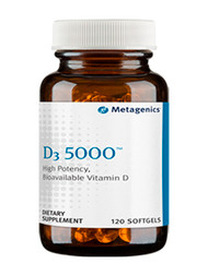 D3 5,000™ by Metagenics 120 gels