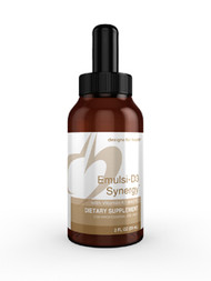 Emulsi-D3 Synergy by Designs for Health 2oz