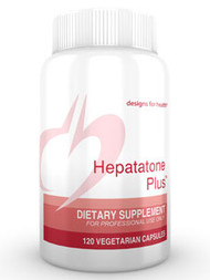 Hepatatone Plus by Designs for Health 120 capsules