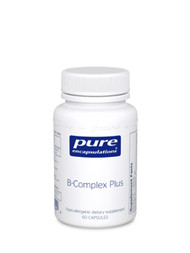*As a complex, the B vitamins are essential for the proper functioning of the nervous system and are perhaps the most important nutritional factor for healthy nerve cells. The B vitamins also play a role in the conversion of carbohydrates into energy, in the metabolism of fats and protein, and in the maintenance of muscle tone in the GI tract. The B vitamins support the integrity of the skin, hair, and liver. This balanced combination of functionally interrelated B vitamins provides wide ranging benefits, yet is specifically supportive of the nervous system.  As part of a well-balanced diet that is low in saturated fat and cholesterol, folic acid, vitamin B6, and vitamin B12 may reduce the risk of vascular disease.†