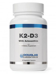 K2-D3 with Astaxanthin by Douglas Laboratories 30 vcaps