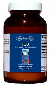 FOS Fructooligosaccharides by Allergy Research Group 100 grams (3.5 oz.) Powder
