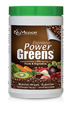"Key Benefits:         ● Powerful Antioxidant Benefits*      ● Immune Function Support*      ● Balanced Super Food Blend*      ● No Added Sugar      ● Enzymes, Probiotics & Fiber for Digestion*      ● Detoxification Support*      ● pH Balance Support*   Power Greens® Espresso is an easy mixing, great tasting and energizing ""phytonutrient"" powder mix loaded with certified organic, whole food plant extracts.* It also supplies a super blend of completely natural vitamins, ionic trace minerals, enzymes, antioxidants, phytonutrients and symbiotic intestinal flora for energy, metabolism, digestion, detoxification, revitalization and longevity.*   Each scoop of Power Greens® Espresso has a high ORAC value, providing powerful antioxidant protection. ORAC (Oxygen Radical Absorbance Capacity) is a method of measuring antioxidant capacities of different foods. Consuming foods with high antioxidant capacity is believed to play an important role in the elimination of free radicals and in the achievement of physiological balance.*"