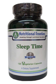 Sleep Time by Nutritional Frontiers 120 vegcaps