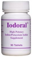 Iodoral IOD-12.5 by Optimox 120 Tablets