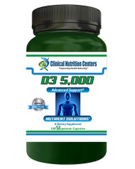 D3 5000 by Clinical Nutrition Centers 120 Vege Capsules