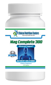 Mag Complete 300 by Clinical Nutrition Centers 120 Vege Capsules