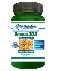 Omega 3D II by Clinical Nutrition Centers Lemon Flavored 240 Softgels