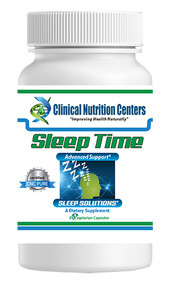 Sleep Time by Clinical Nutrition Centers 8 Vege Capsules Trial Size