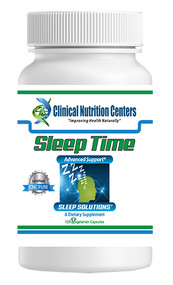 Sleep Time by Clinical Nutrition Centers 120 Vege Capsules