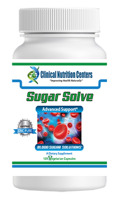 Sugar Solve by Clinical Nutrition Centers 120 Vege Capsules
