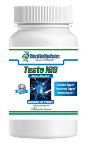 Testo 180 by Clinical Nutrition Centers 120 Vege Capsules