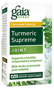 Turmeric Supreme Joint By Gaia Herbs 120 Capsules