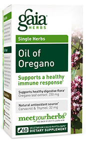 Oil of Oregano By Gaia Herbs 60 Capsules