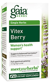 Vitex Berry By Gaia Herbs 60 Capsules