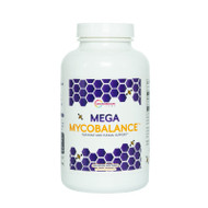 Image of a bottle of Mega MycoBalance health supplements from Clinical Nutrition Centers