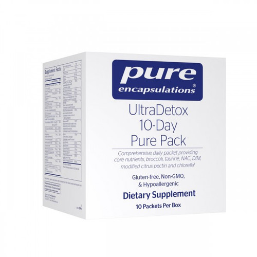 UltraDetox 10-Day Pure Pack By Pure Encapsulations 10 Packs