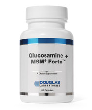 Glucosamine + MSM by Douglas Laboratories 250 Capsules
