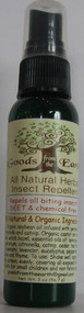 All Natural Herbal Insect Repellent  by Goods From The Earth 2oz