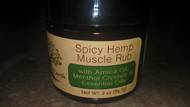 Spicy Hemp Muscle Rub 2 oz. (60 g)