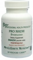 Pro NADH by PHP ( Professional Health Products ) 30 VCaps