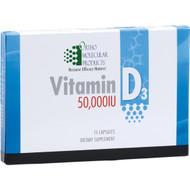 Vitamin D3 50,000 IU 15 capsules pack by Ortho Molecular