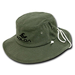 5fa5c64f5d6 Koloa Surf Co. Aussie Style Outback Drawstring Adult Bucket Hat