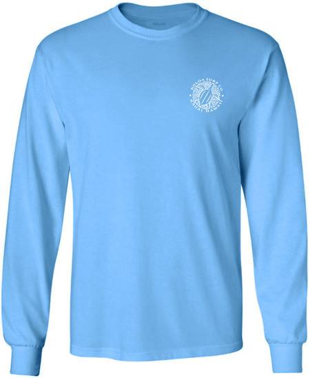 0d6d2461359e Aquatic Blue   White logo · Choose Options · Koloa Surf Hawaiian Turtle  Logo Long Sleeve T-Shirts