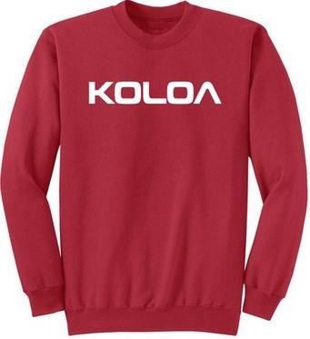 c851bd7dd Koloa Surf Soft & Cozy Classic Crewneck Sweatshirt