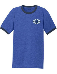 Heathered Royal Blue / Navy front
