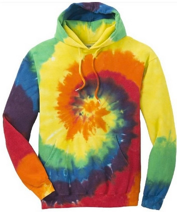 colorful sweatshirt tie dye hoodies koloa surf co colorful tie dye hoodies 2822