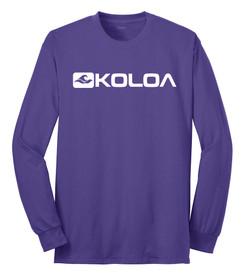 Purple / White logo