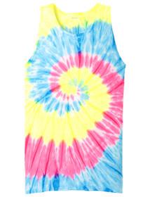 Neon Rainbow tie-dye