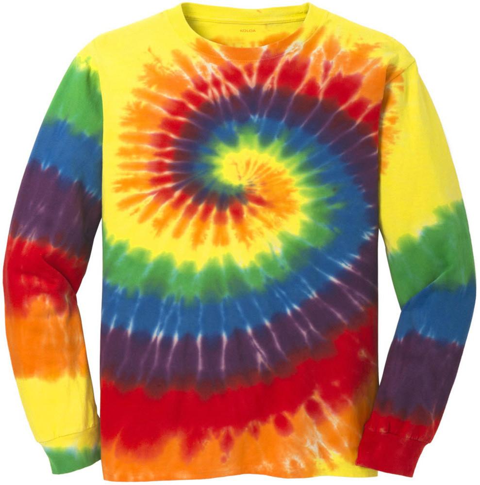 Koloa Surf Co Colorful Long Sleeve Tie Dye T Shirts
