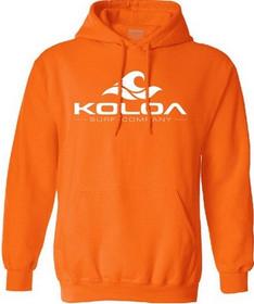 Orange with White logo